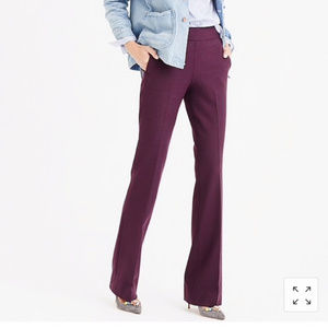 J. CREW full length pant in two-way stretch AC9
